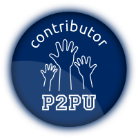 P2pu Technical Contributor Badge