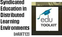 Syndicated Education in Distributed Learning Environments