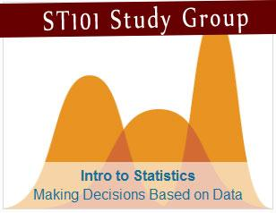 Udacity ST101 - Introduction to Statistics  Making Decisions based on Data Study Group