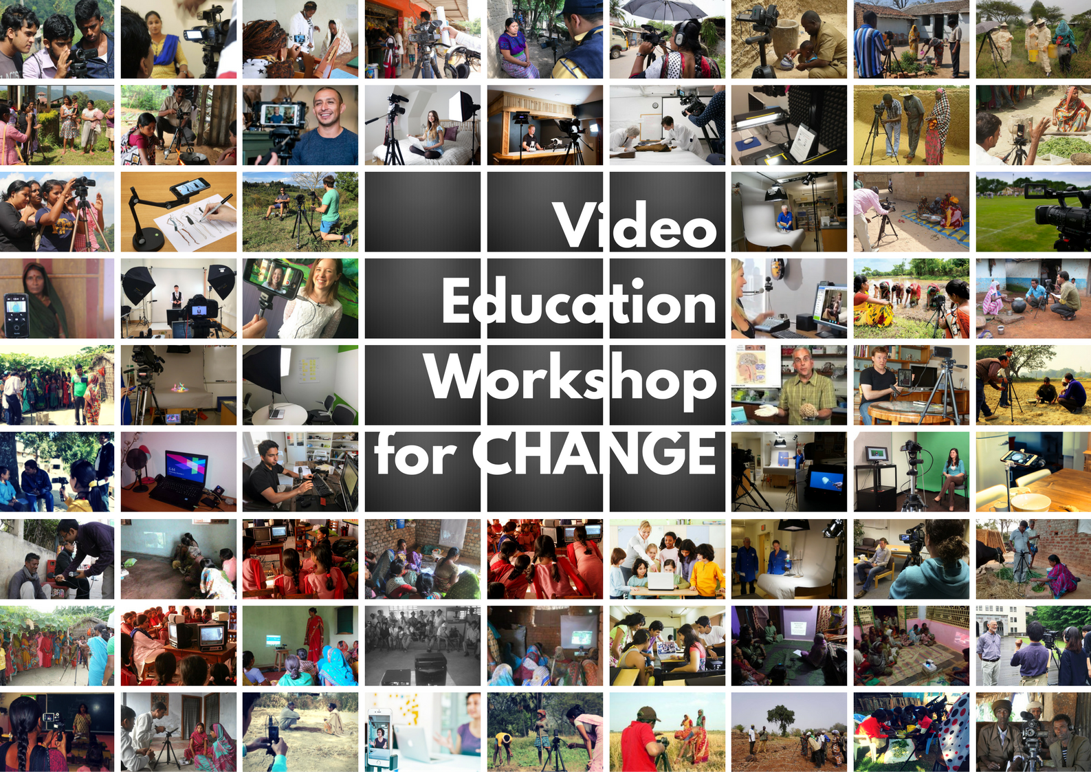 video education for change workshop