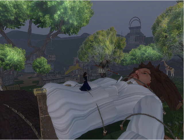 Gulliver's Travels sim at Inworldz