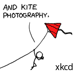 and kite photogrphy. --xkcd (CC-by-NC)