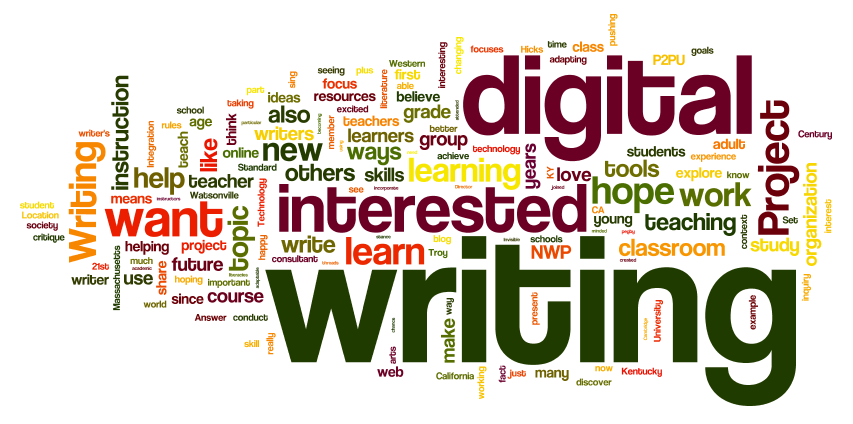 Writing in a Digital Age Wordle